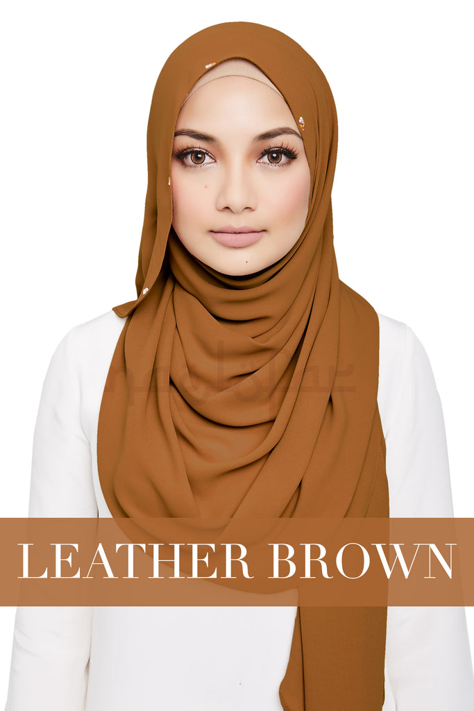 #VIBEACOLOR - PRECIOUS - LEATHER BROWN