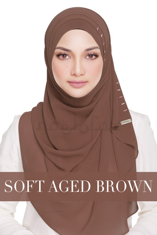 QUEEN WARDA - SOFT AGED BROWN