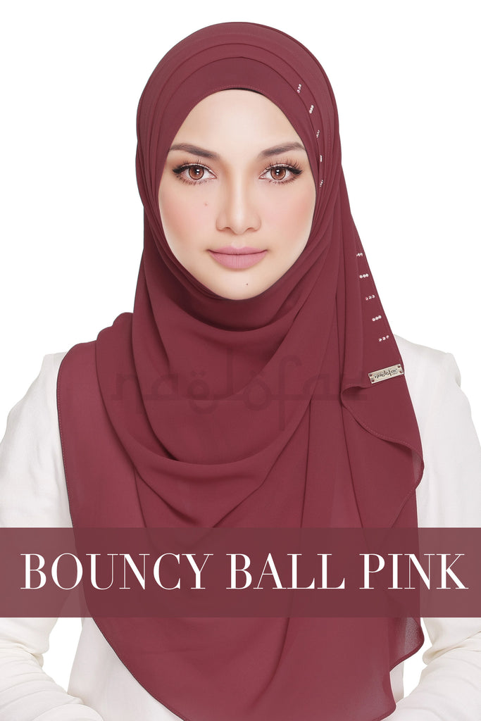 QUEEN WARDA - BOUNCY BALL PINK