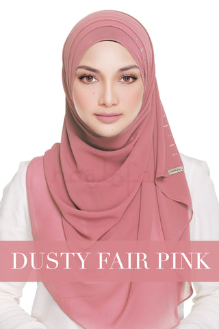 QUEEN WARDA - DUSTY FAIR PINK