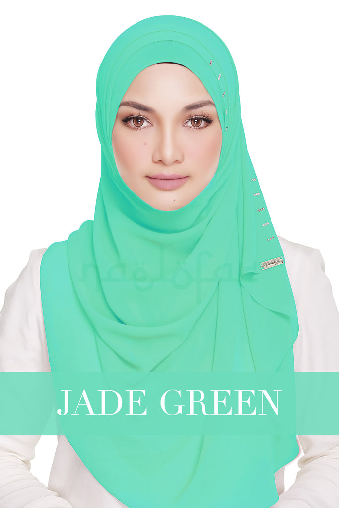 QUEEN WARDA - JADE GREEN