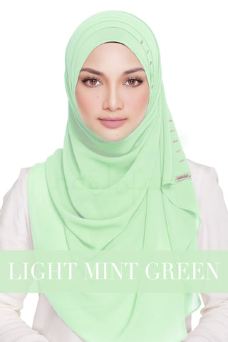 QUEEN WARDA - LIGHT MINT GREEN