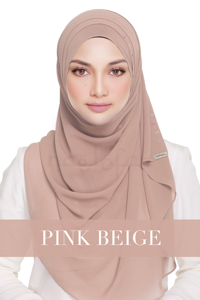 QUEEN WARDA - PINK BEIGE