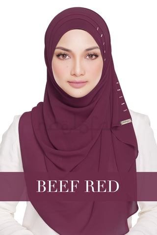 QUEEN WARDA - BEET RED