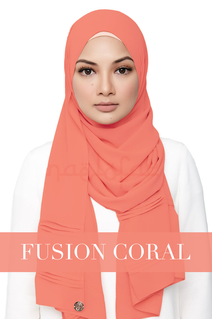 ZEHRA - FUSHION CORAL