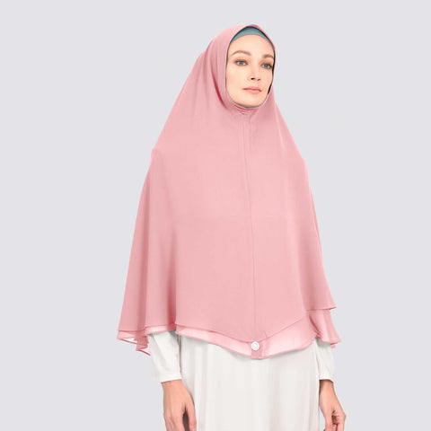 KHIMAR SAFIYA - STRAWBERRY CREAM