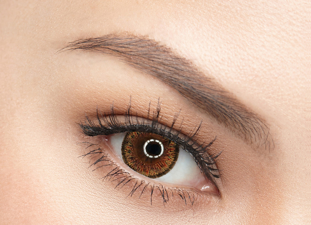 LOFA LENS - CAT EYES BROWN