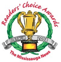 2008 readers choice awards platinum badge