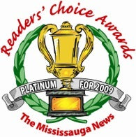 2009 readers choice awards platinum badge