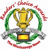 2010 readers choice awards platinum badge