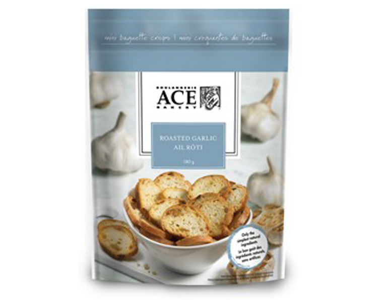 ACE Roasted Garlic Crisps