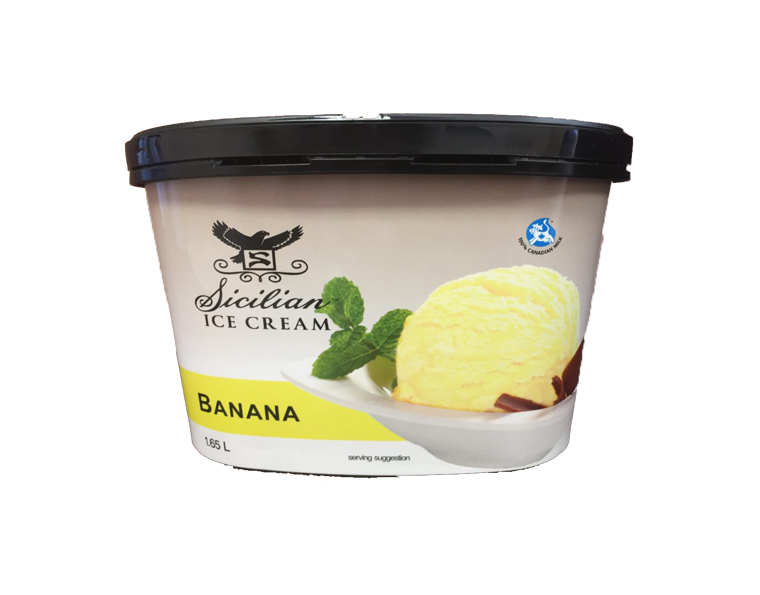 Sicilian Banana Ice Cream