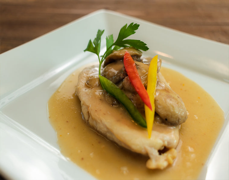 Chicken or Veal Scaloppine