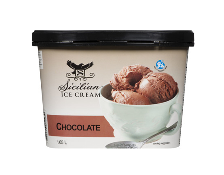 Sicilian Chocolate Ice Cream