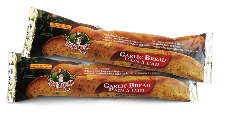 Deleo White Garlic Bread