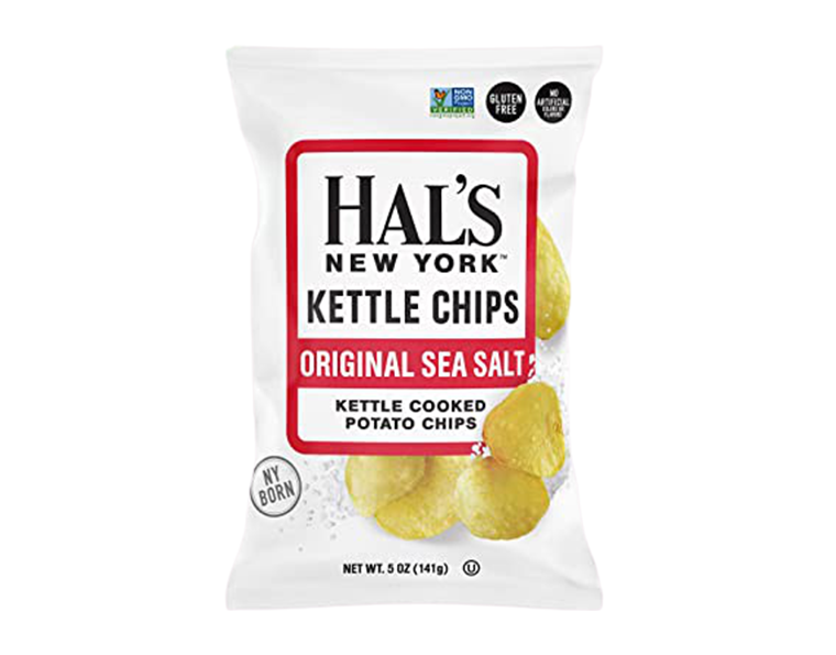 Hals' NY Original Sea Salt Kettle Chips