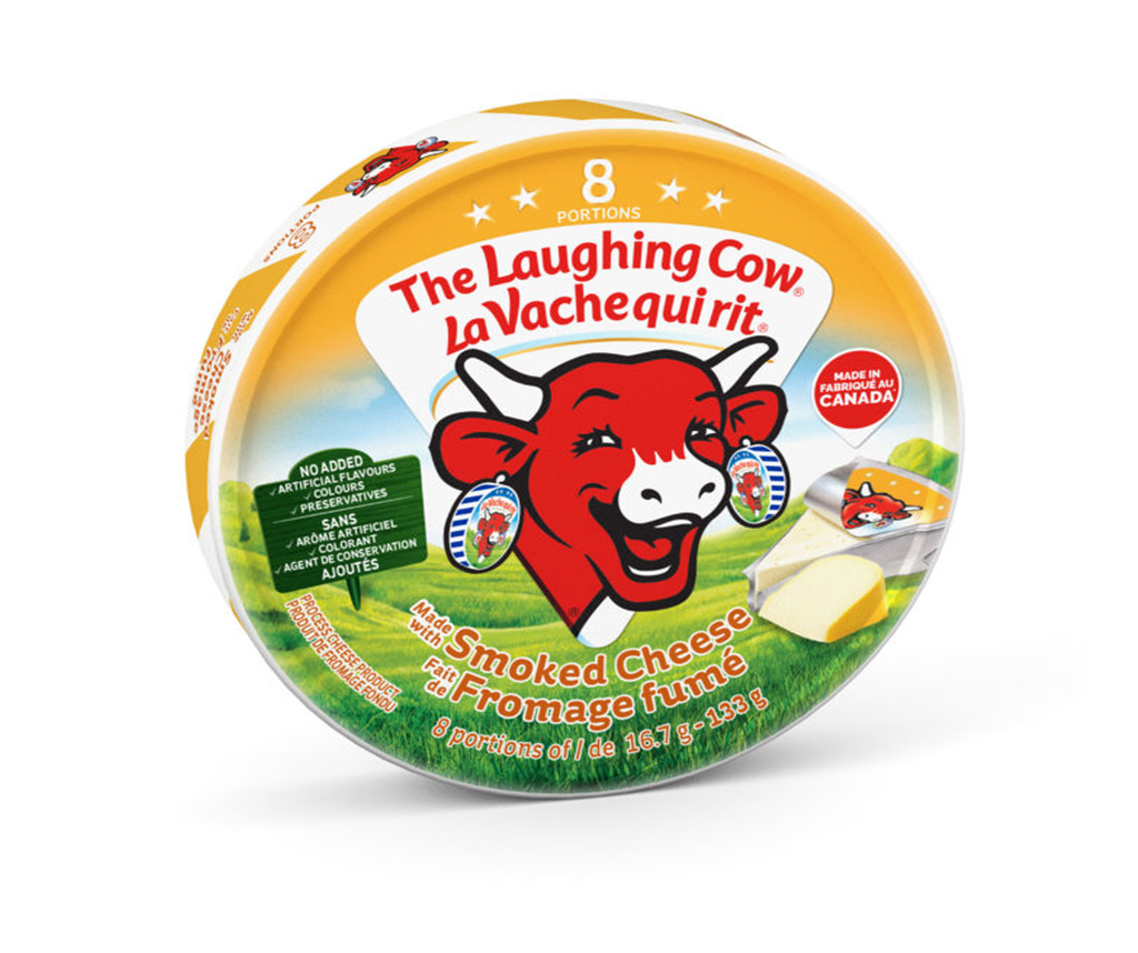 The Laughing Cow Smoked 8 Portion