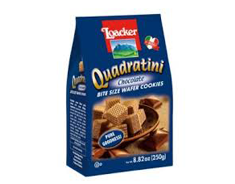 Loacker Chocolate Quadratini