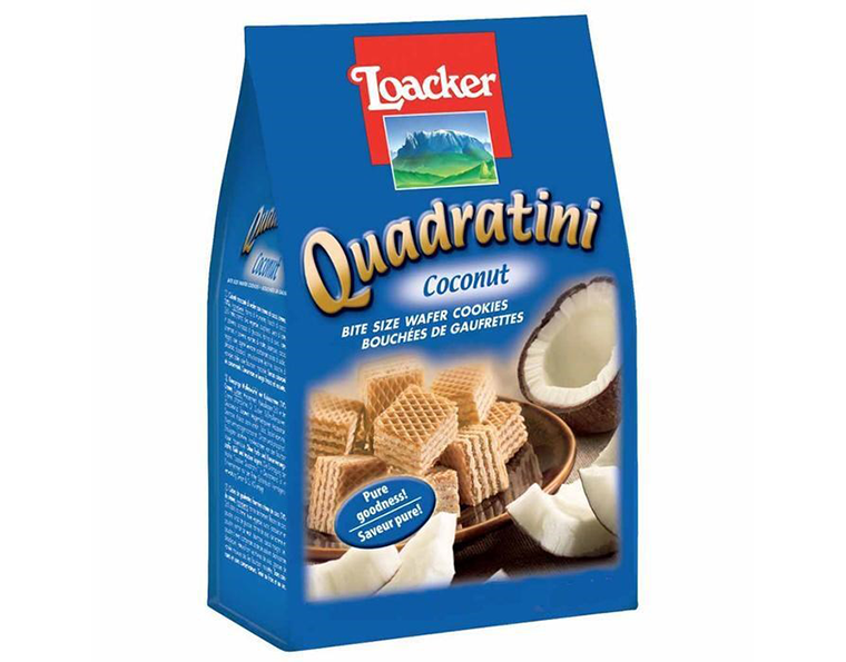 Loacker Coconut Quadratini