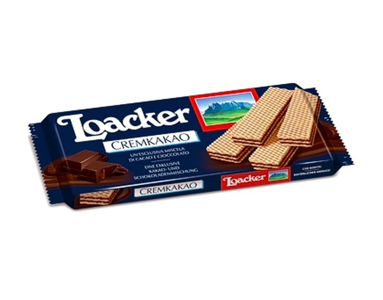 Loacker Dark Chocolate Wafer