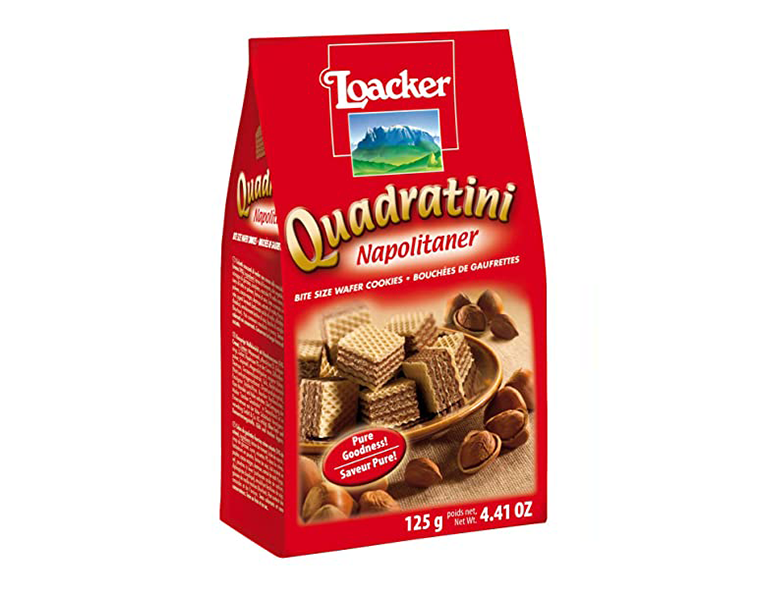 Loacker Hazelnut Quadratini