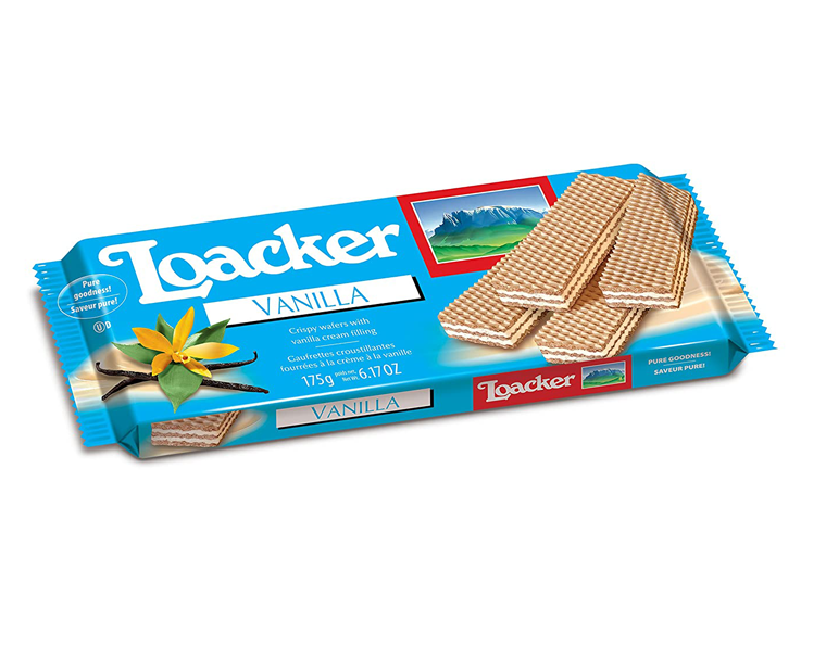 Loacker Vanilla Wafer