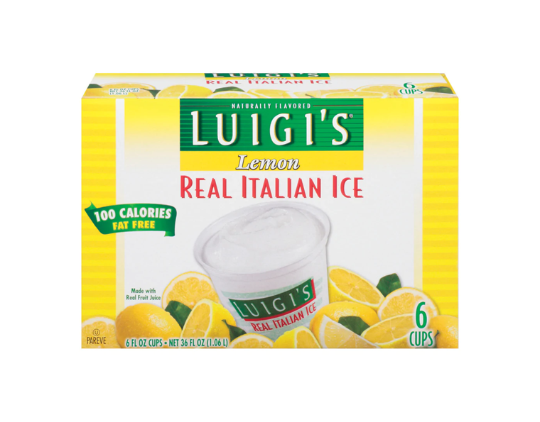 Luigi Lemon Ice