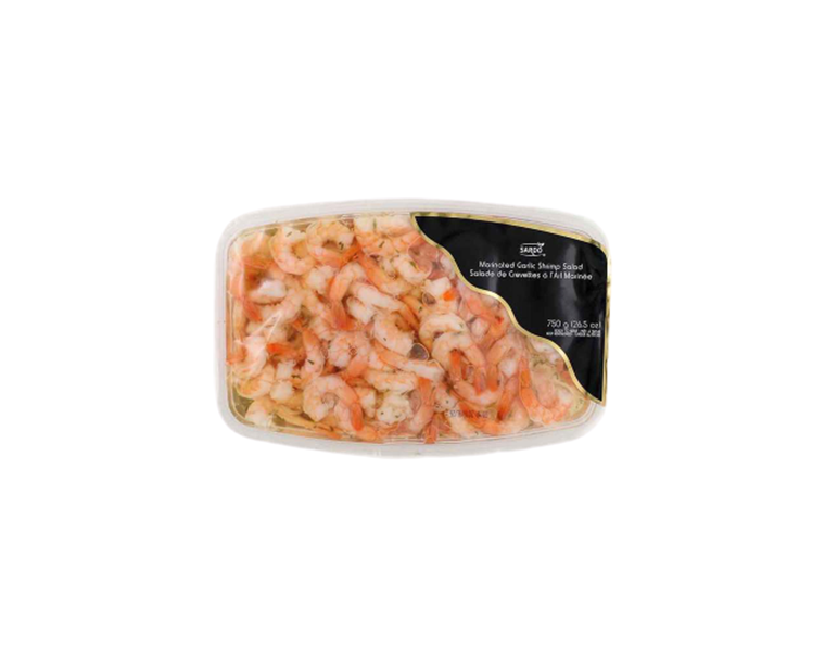 Sardo Marinated Garlic Shrimp