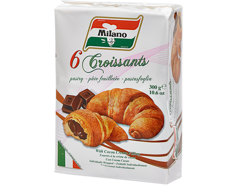 Milano Cocoa Filled Croissants