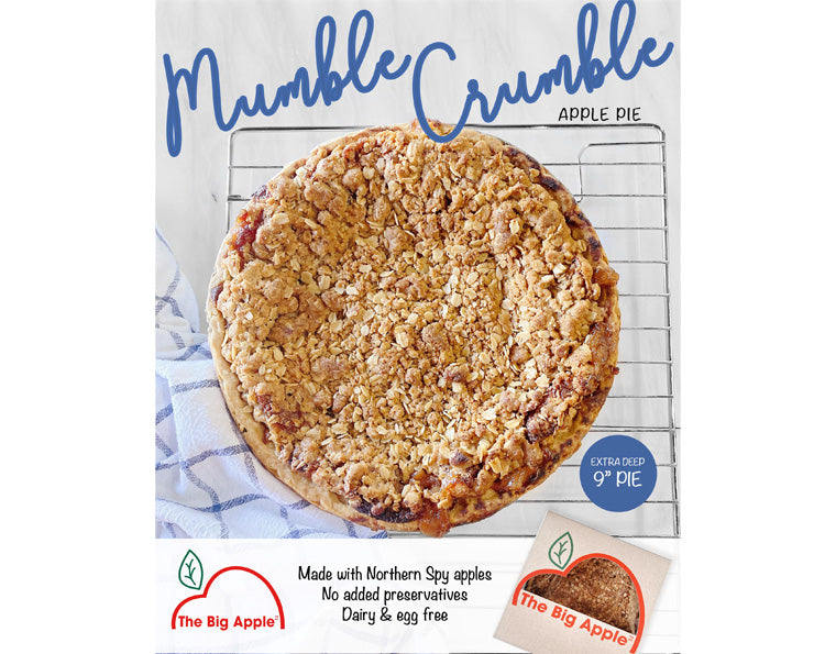 Mumble Crumble Apple Pie