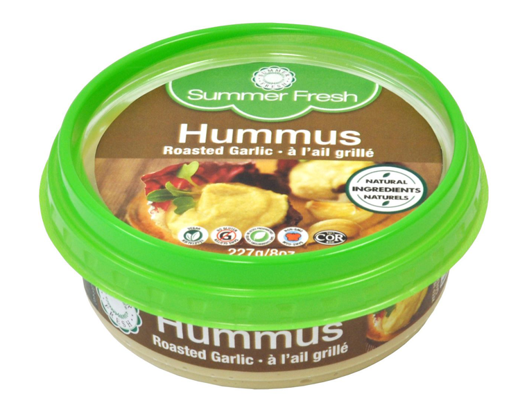 Roasted Garlic Hummus Dip