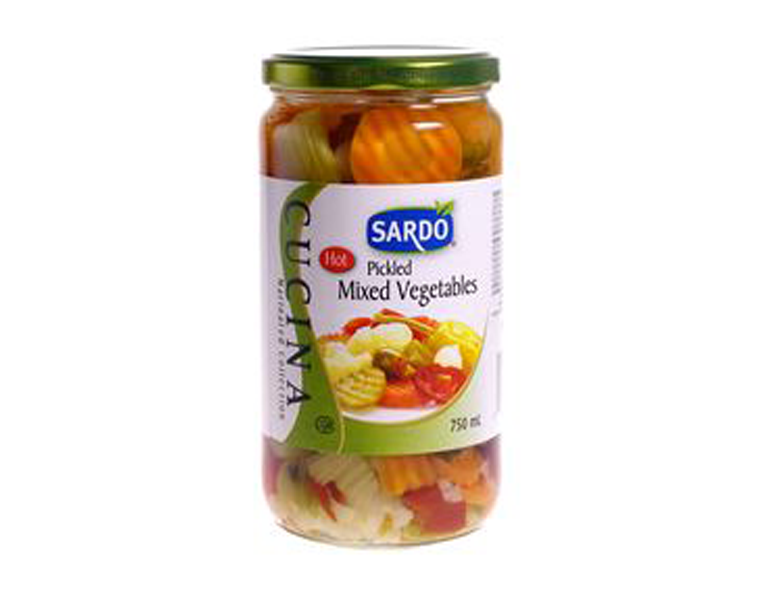 Sardo Pickled Mixed Vegetables
