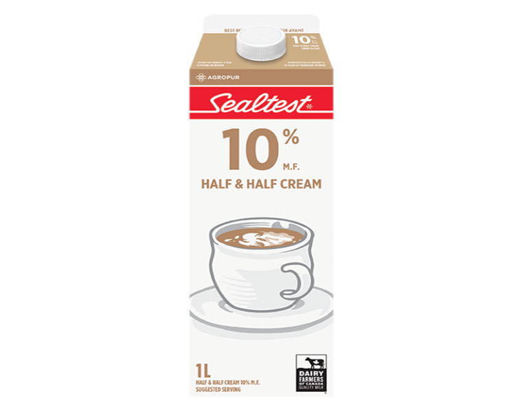 Sealtest Half & Half Cream
