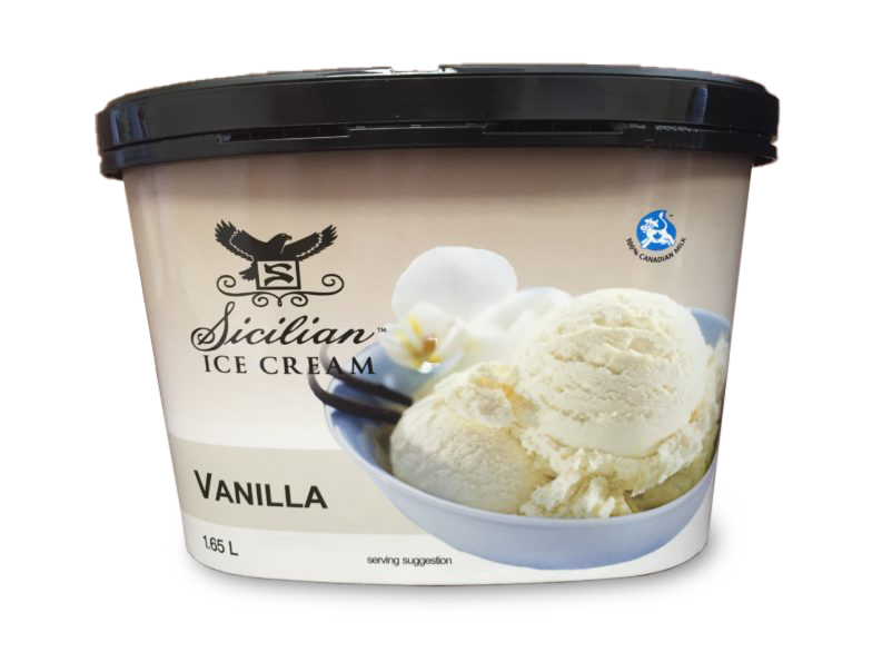 Sicilian Vanilla Ice Cream