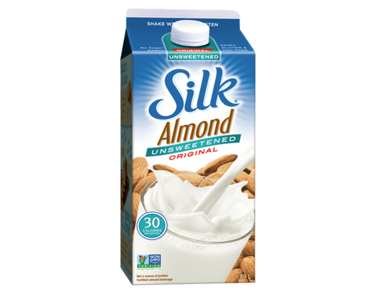Silk Almond Milk Original Unsweetened