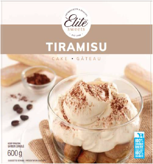 Scoop & Serve Tiramisu Cake