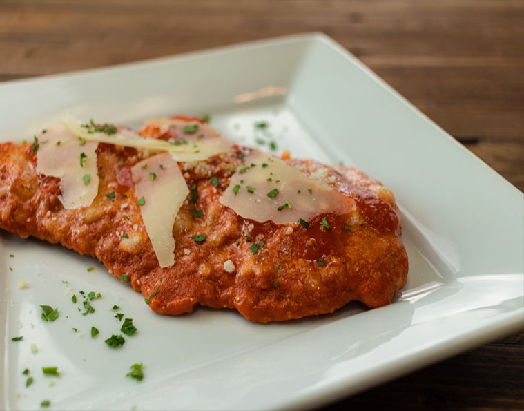 Chicken or Veal Parmigiana
