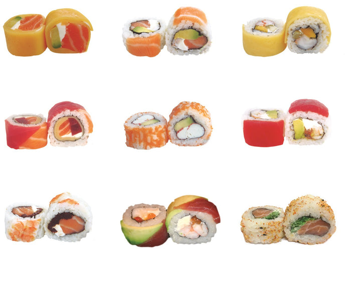 Sushi King roll cocido