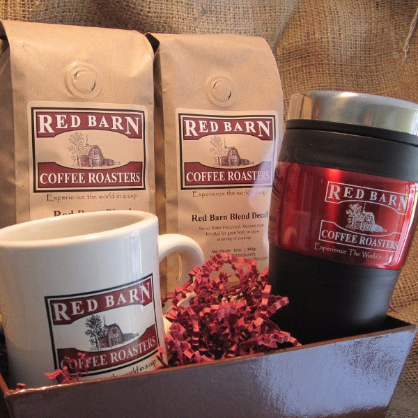Red Barn Gift Basket