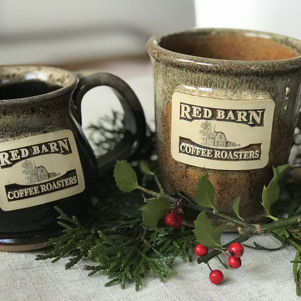 Red Barn Pottery Mug