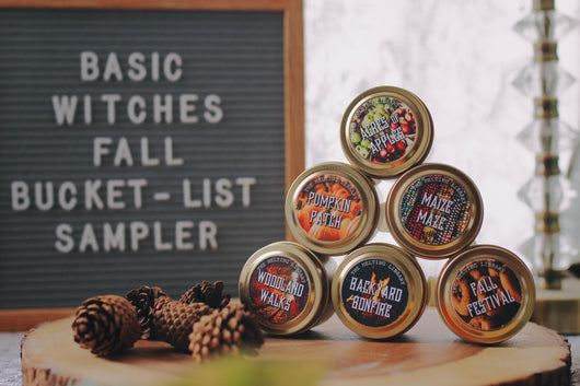 Basic Witches Fall Bucket-List Sampler