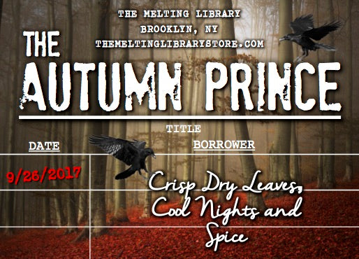 The Autumn Prince - An Enchantment of Ravens Inspired Candle