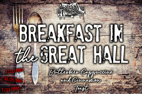 Breakfast in the Great Hall