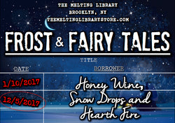Frost & Fairy Tales - The Bear and the Nightingale Candle