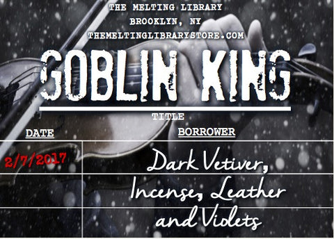 Goblin King - Wintersong Inspired Candle