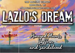 Lazlo's Dream - Strange the Dreamer Inspired Candle
