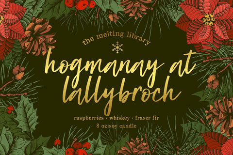 Hogmanay at Lallybroch - Outlander Inspired Candle