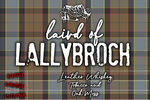 Laird of Lallybroch - Jamie Fraser Outlander Inspired Candle