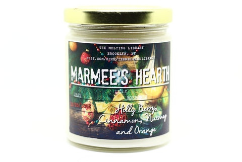 Marmee's Hearth - Little Women Inspired Candle