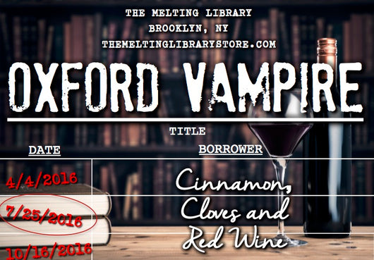 Oxford Vampire - A Discovery of Witches Inspired Candle
